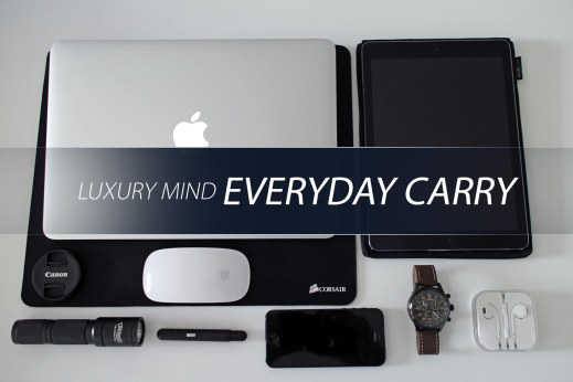 EveryDay Carry Luxurymind